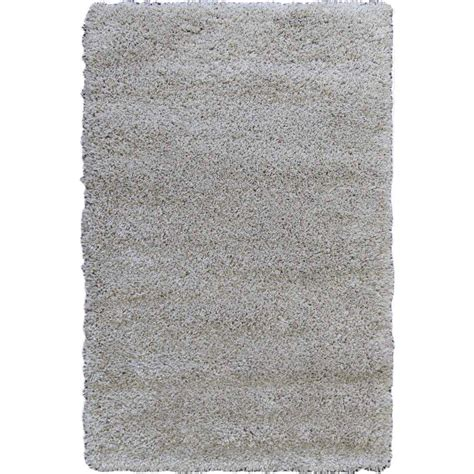 Shag Rug Beige by Shag Rug Solid Beige Plush Fluffy Soft Shaggy Non