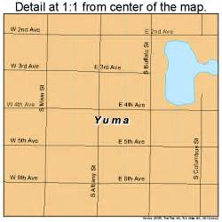 yuma colorado map 0886750