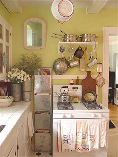 Apartment Galley Kitchen Ideas cottage kitchen at our old house confetti garden nicole