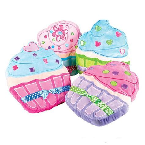 cupcake plush pillow rooms for