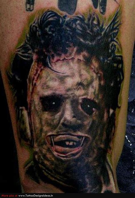 these horror tattoos are scary awesome freddy guff