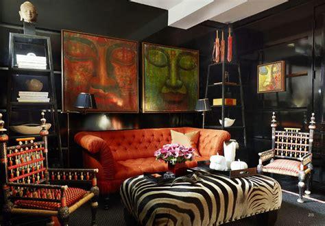 zebra stripe interiors  color  interior decorating