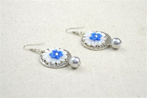Handmade Shell Earrings - handmade handcrafted jewelry how to make shell earrings