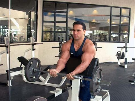 bench press biceps bicep shock treatment