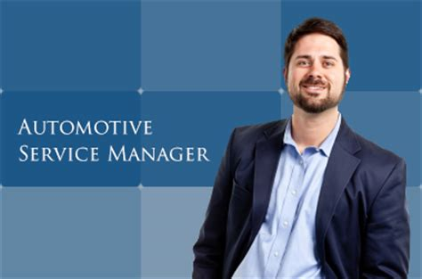 Automotive Service Manager all at ciocca dealerships