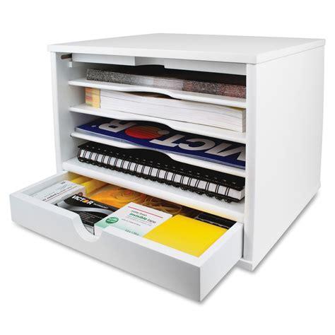 victor w4720 white desktop organizer vct w4720