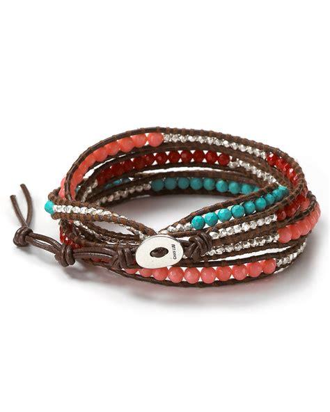 bloomingdales gift wrap service chan luu beaded wrap bracelet bloomingdale s