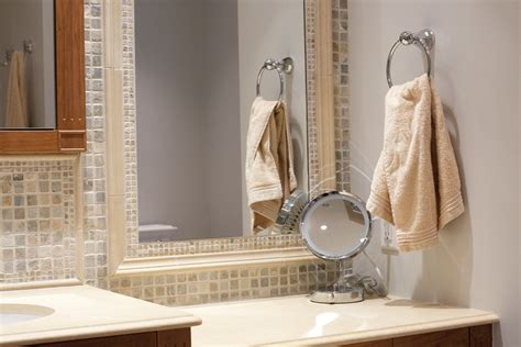 bathroom mirror mosaic frame 30 ideas of mosaic tile framed bathroom mirrors