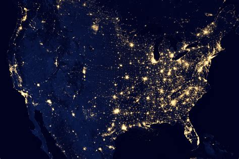 city lights of the united states 2012 hazards