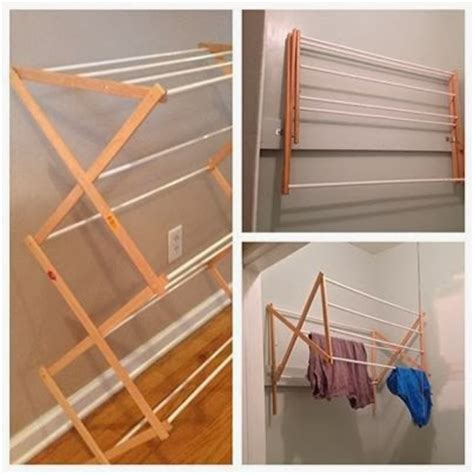 Diy Wall Mounted Drying Rack by Two It Yourself Diy Laundry Drying Rack Wall Mount From