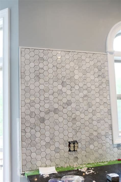 pencil tile for edging backsplash mosaic