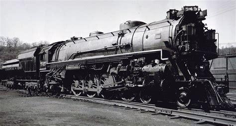 steam locomotive diagrams of the chesapeake ohio railroad the c o s class j 1 j 2 4 8 2 s