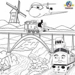 Diesel 10 Coloring Page coloring pictures pages to print and color activities the tank engine