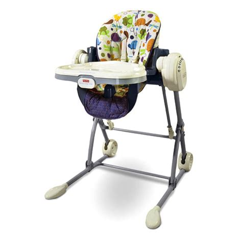 fisher price swing high chair new fisher price 2 in 1 baby infant swing to high chair