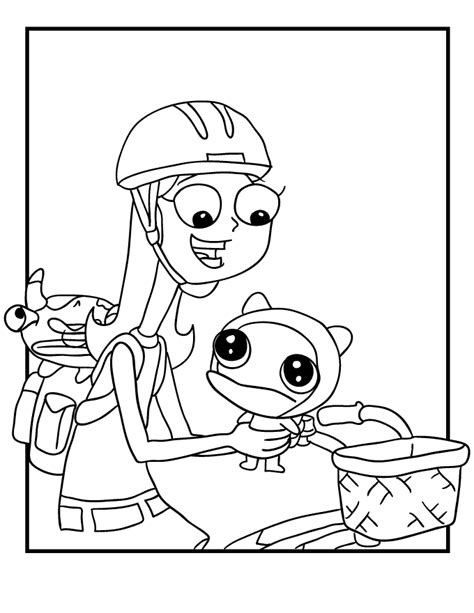 Phineas And Ferb Coloring Pages Free Printable Coloring Pages Cool Coloring Pages Phineas And Ferb Colouring Pages