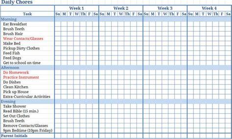 free chart maker free printable house chores list chore chart maker