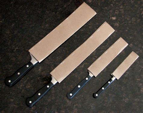 Kitchen Sleeve Guards how to keep your knives sharp for practically free