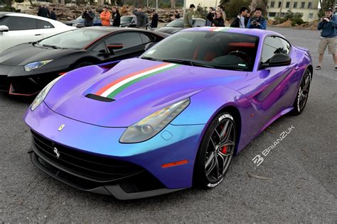 purple ferrari f12 chameleon ferrari f12berlinetta not ready to surrender to