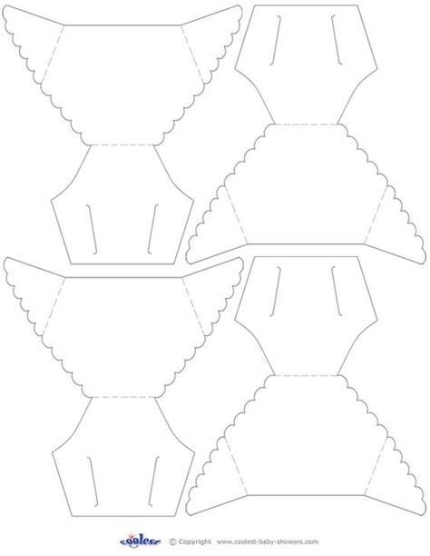 printable diaper template gabarit naissance free printable diapers and template