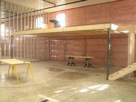 how to build a garage loft build a mezzanine in garage joy studio design gallery