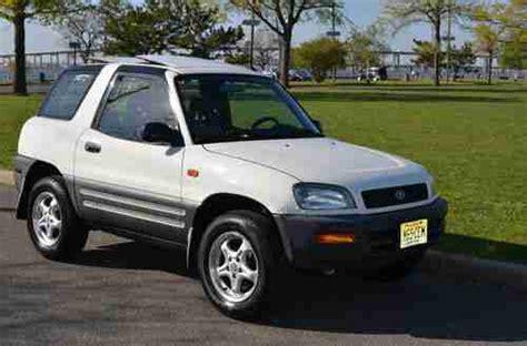 Toyota Rav4 2dr For Sale Sell Used 1996 Toyota Rav4 Base Sport Utility 2 Door 2 0l