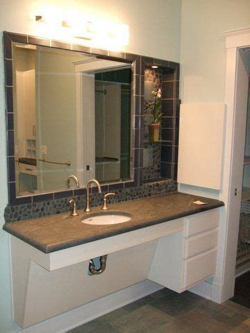 free bathroom top of wheelchair accessible bathroom vanity