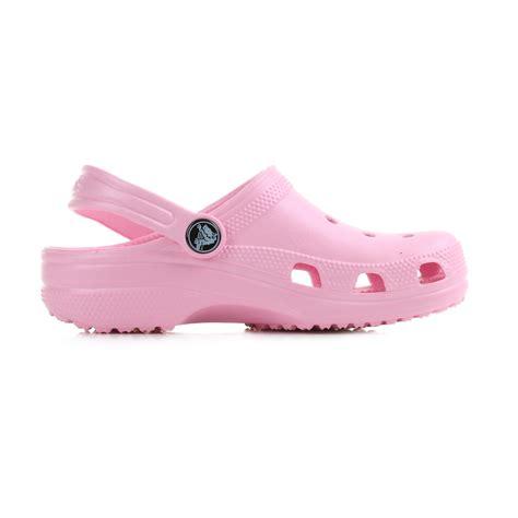 crocs childrens sandals crocs classic carnation pink clog mules sandals