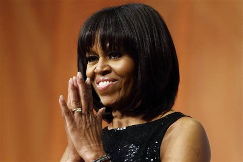 michelle obama haircut michelle obama s hair the inside story