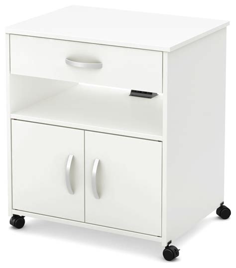 kitchen island microwave cart south shore fiesta microwave cart on wheels pure white