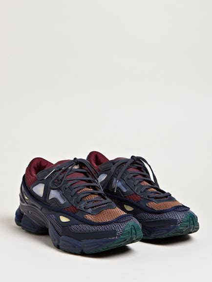 raf simons mens ozweego 2 running sneakers in blue for lyst