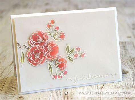using vellum in card stin up artisan hop vellum vision teneale