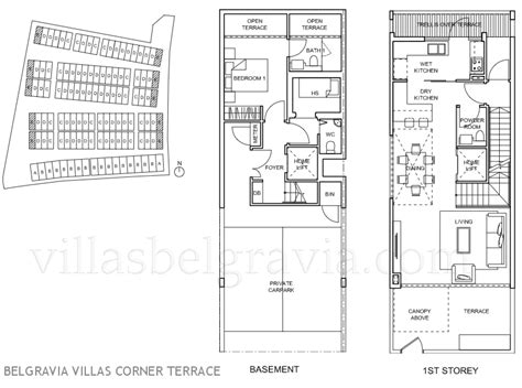 terraced house floor plans belgravia villas freehold ang mo kio cluster houses