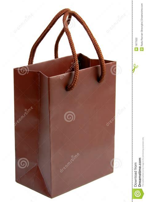 Bag Brown 1 brown gift bag 1 stock photography cartoondealer