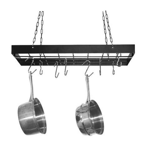pot racks hanging pot racks and pots on pinterest fox run craftsmen rectangle hanging pot rack reviews