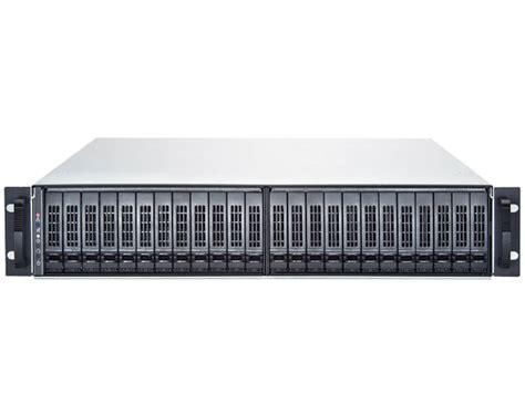 2u 24 bay 2 5 inch drive storage server chassis