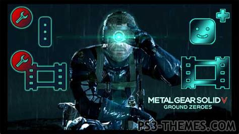 theme solid psp ps3 themes 187 metal gear solid 5 ground zeroes dynamic
