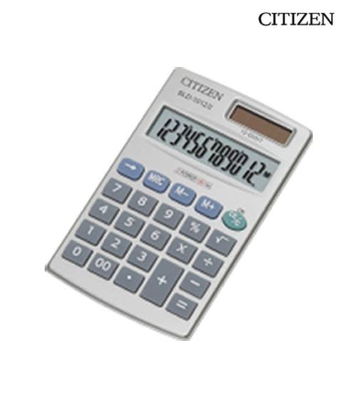 calculator citizen citizen sld 1012ii pocket calculator buy online at best