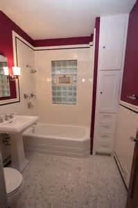 Bungalow bathroom near montrose and california craftsman bathroom