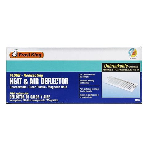 heat l home depot heat and air deflector hd7 the home depot