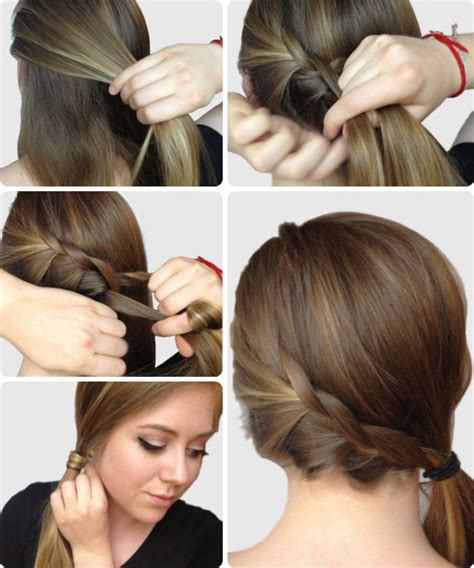 easy hairstyles for everyday of the week 6 super easy hairstyles for finals week college fashion