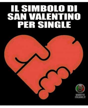 per single il simbolo di san valentino per single facciabuco