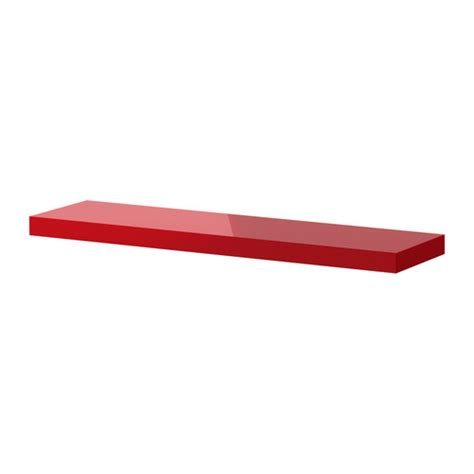 ikea regal rot lack lack wall shelf high gloss ikea