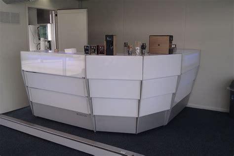banco bar banco bar reception modulare luminoso banco bar