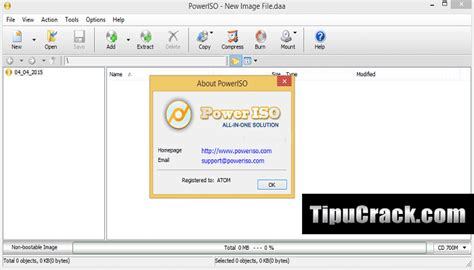 poweriso 5 5 full version serial key poweriso crack 7 0 portable x86x64 free download