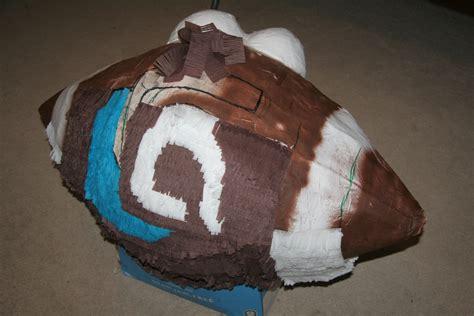 How To Make A Paper Mache Soccer - football pi 241 ata boy