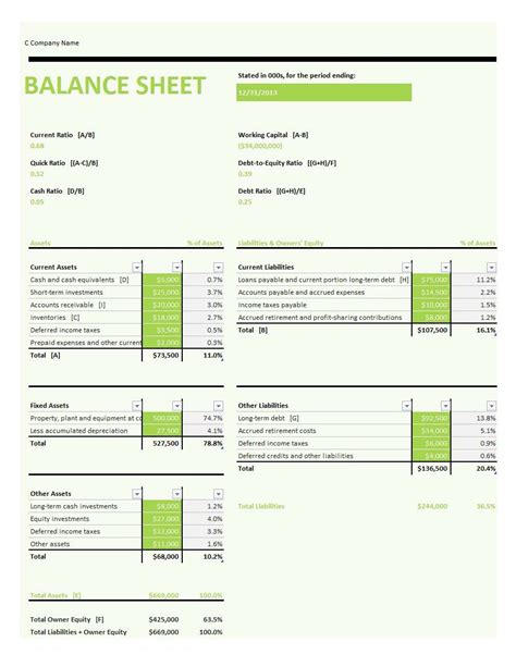 account balance sheet template accounting balance sheet template masir