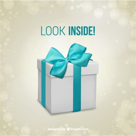 gift box surprise template vector free download