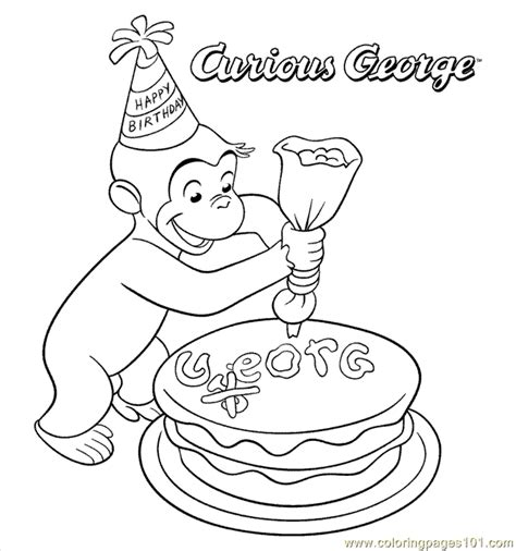 coloring pages curiousgeorge22 cartoons gt curious george