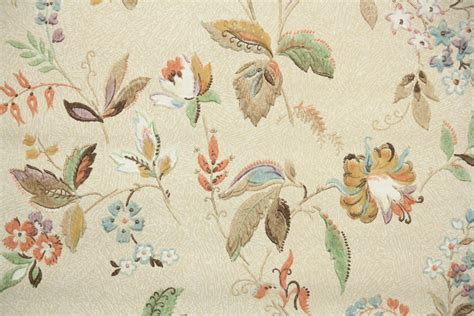 flower wallpaper ebay 1930s vintage wallpaper by the yard antique floral wallpaper