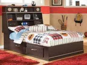 Twin Captains Bed With Storage Full Size Storage Bed For Kids Stroovi